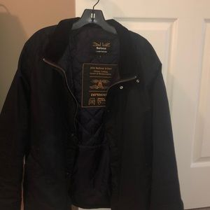 Barbour Land Rover defender waxed jacket